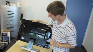 benq ew2730 27 led backlit va panel lcd monitor unboxing first look linus tech tips