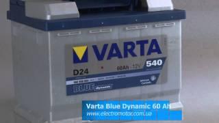 Батарея Varta 60 Ah - Blue dynamic