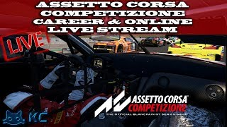 Assetto Corsa Competizione (PC) Career & Online Multiplayer With Subs  (Live Stream🔴 14/8/2019)