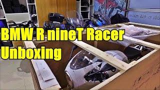 BMW R nineT Racer unboxing. Распаковка и сборка мотоцикла BMW RnineT Racer
