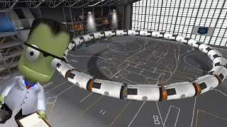 KSP Large Ring Station Pt1: How to build