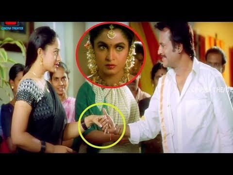 Soundarya & Rajinikanth Blockbuster Movie Ultimate Interesting Love Scene || Cinema Theater