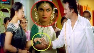 Soundarya & Rajinikanth Blockbuster Movie Ultimate Interesting Love Scene    Cinema Theater