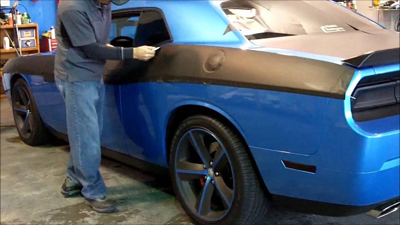 how to carbon fiber wrap hood