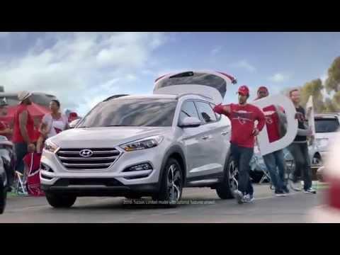 2016 Hyundai Tucson NFL Sponsorship D Gate Commercial #BecauseFootball