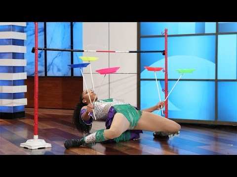 An Unbelievable Limbo Artist Shows Off Her Skills!