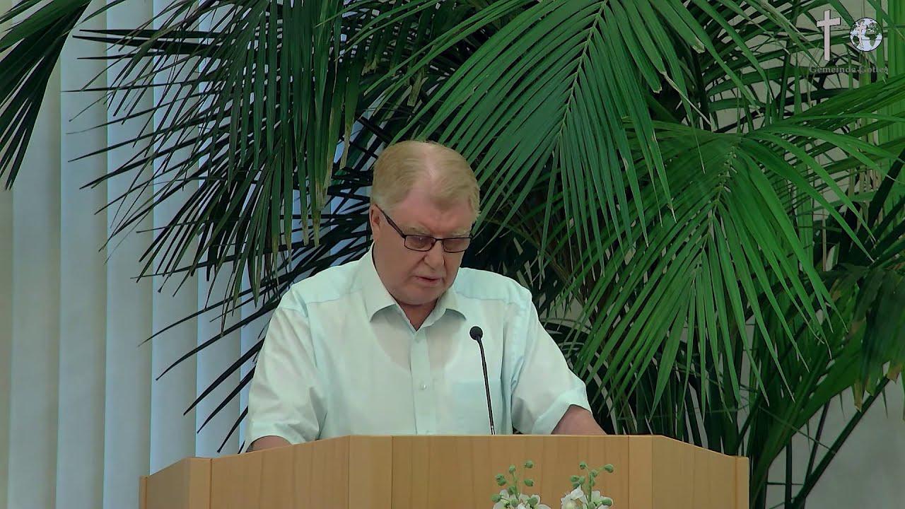 Sonntagsgottesdienst - 05.07.2020