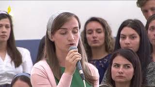 2 Septembrie 2018 Cantare Alexandra Muntean - Cu haina iubirii s-acopar mereu