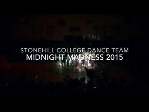 Stonehill College Dance Team MIDNIGHT MADNESS 2015
