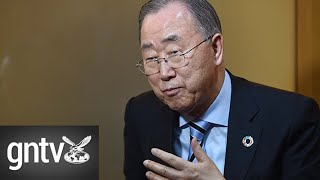 Ban Ki-moon calls for de-escalation between the USA and Iran
