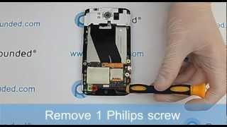 HTC Sensation XL G21 X315e repair, disassembly manual