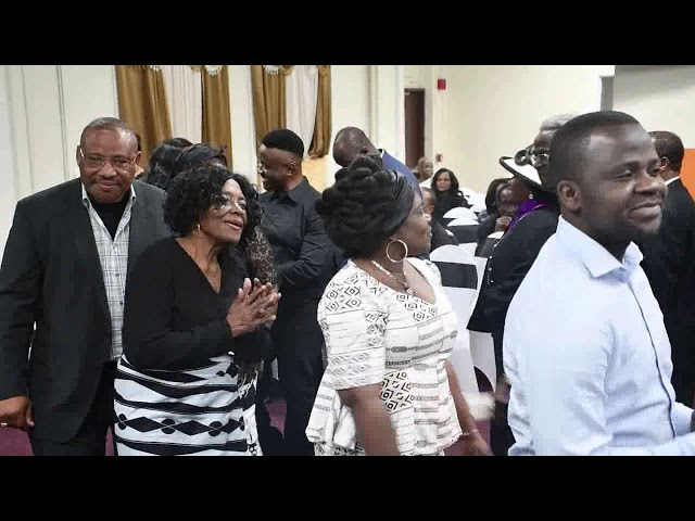 Reverend Agbeyehia Celebrates His Late Father's Life In Chicago