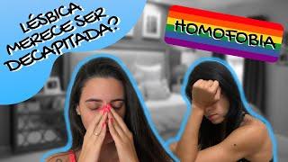 COMENTÁRIOS HOMOFÓBICOS