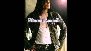 Michael Jackson One More Chance Filtered Acapella