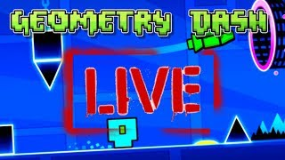 GEOMETRY DASH BUILDING [LIVE] (Road to 1K)