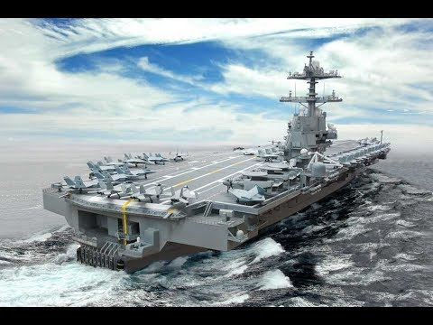U.S. Navy new 21st century $12.8 billion Nuclear Powered Supercarrier