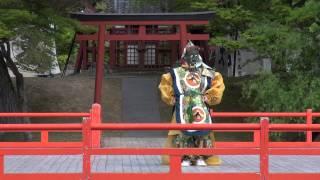 2013年5月2日に行われた聖武天皇祭での奉納舞楽.