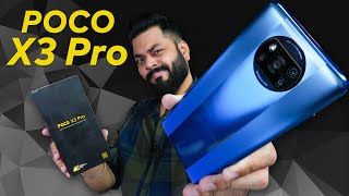 POCO X3 Pro Unboxing & First Look ⚡ Snapdragon 860, 120Hz Screen, 48MP Camera & More