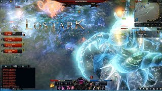 LOST ARK Online - CBT2 Devil Hunter Max Level 50 Death Valley Map World Boss Gameplay