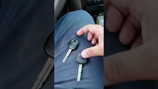Toyota Camry Transponder Key Programming!