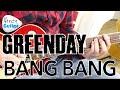 Green Day Bang Bang Guitar Lesson Tutorial - BRAND NEW SONG!