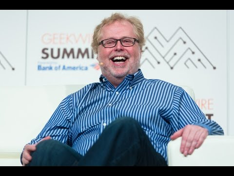 Nathan Myhrvold at the 2016 GeekWire Summit