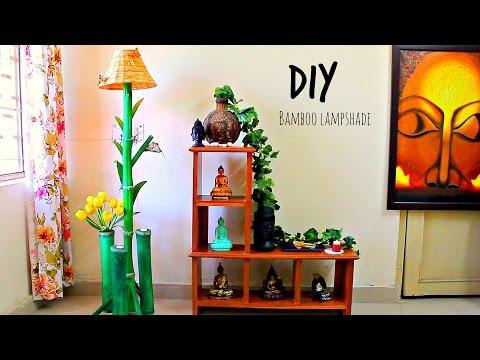how-to-make-floor-lamp-using-bamboo-i-diy-home-decor