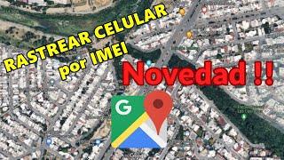 ⭐ Rastrear celular por IMEI ⭐
