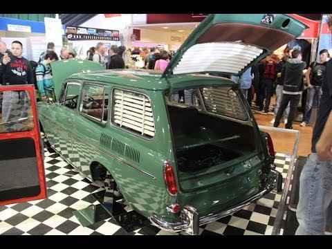 Vw type 3 Fully restored Vw event UK 2014 VolksWorld