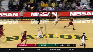 Iowa State vs Baylor Women's Basketball Highlights