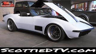 1972 Chevrolet Corvette Convertible Custom Vini's Hot Rod The SEMA Show 2017