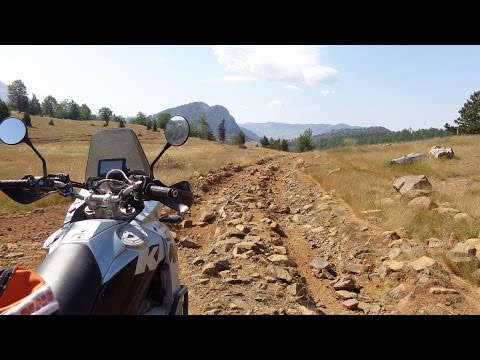 Albania Motorcycle Trip 2015 Trailer KTM LC8 Adventure