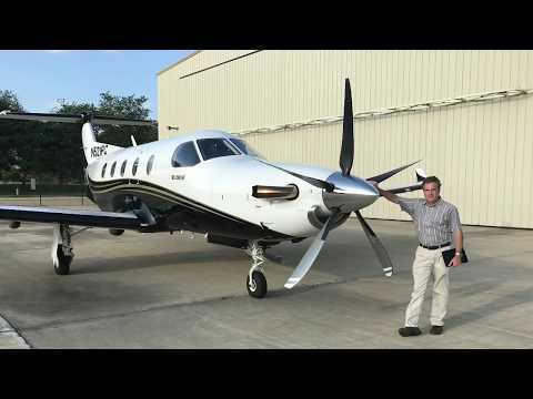 Pilatus PC-12 Flight