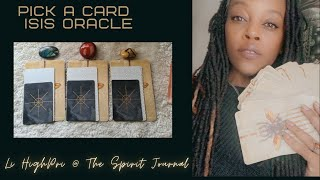 🌹HighPri - PICK A CARD - Isis Oracle | Goddess Guidance 🌟
