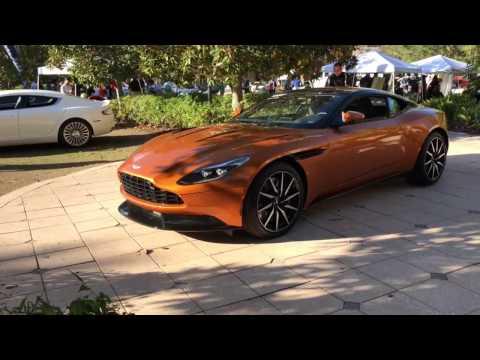 "2017 Aston Martin DB11 ""Madagascar Orange"" Walkaround Part 1 (4K)"