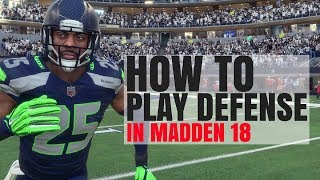 Madden Defense Tips 101 - How To Play Defense