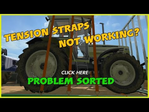 fs17 STRAPS NOT WORKING EASY FIX FARMING SIMULATOR 17 PS4
