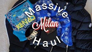 Milan Haul (ft. LV, Kenzo, YSL, Moncler, Moschino, McQ & more) x Experience