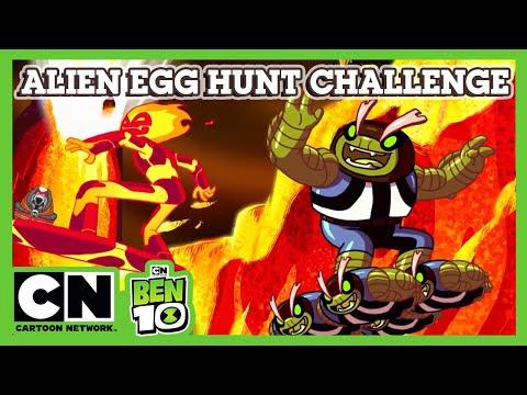 Ben 10   Alien Egg Hunt Challenge   Cartoon Network UK 🇬🇧