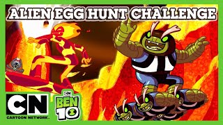 Ben 10 | Alien Egg Hunt Challenge | Cartoon Network UK