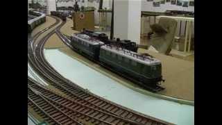 Aufbau einer Modellbahn im Maßstab 1:32