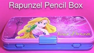 rapunzel pencil box