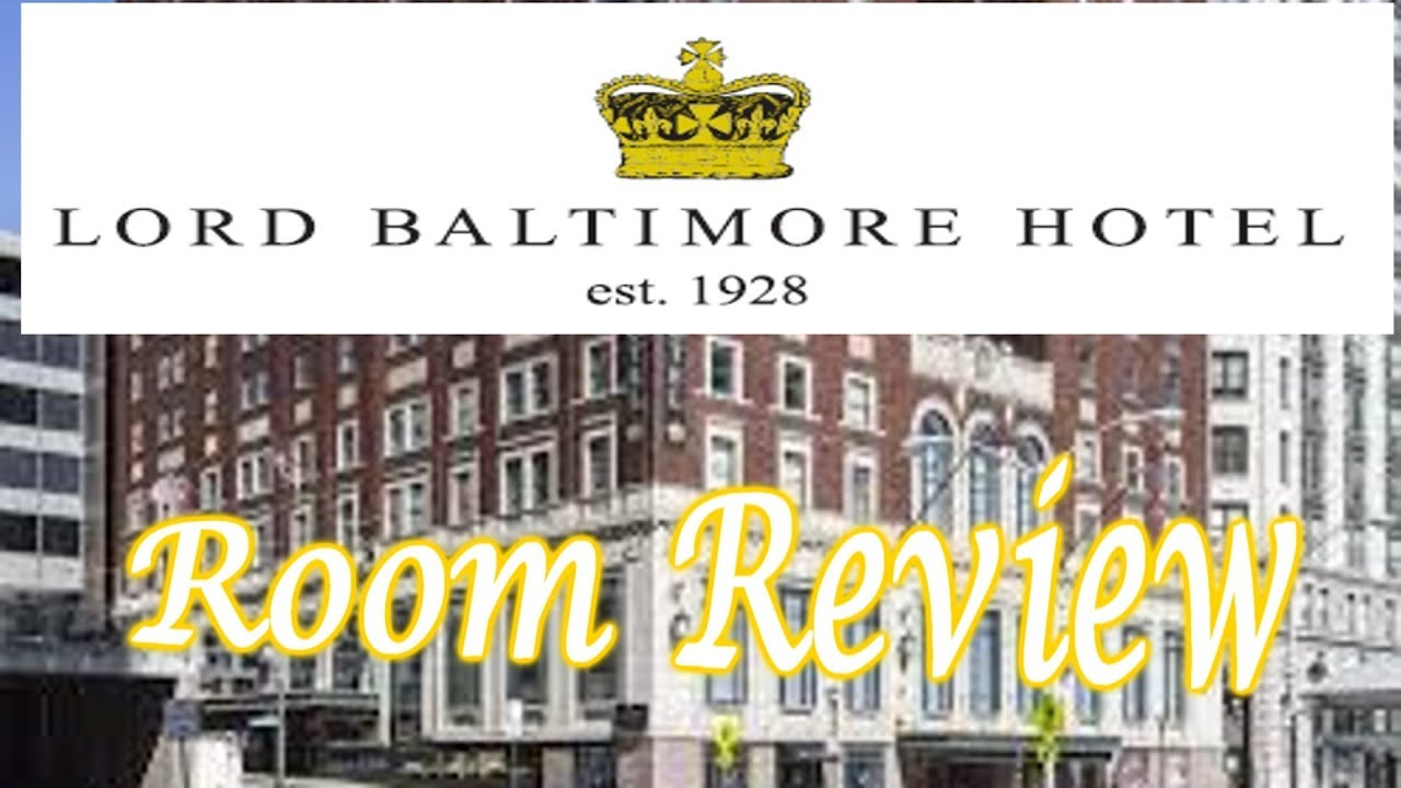 Lord baltimore hotel room 505 walk through review youtube for Lord of baltimore hotel