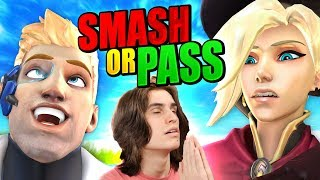 OVERWATCH SMASH OR PASS CHALLENGE