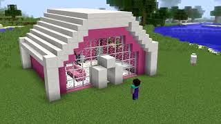 10 Minecraft NOOB vs PRO : SWAPPED BOY VS GIRL HOUSE CHALLENGE in Minecraft Animation   YouTube file