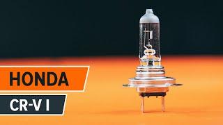 Comment et quand changer Ampoule projecteur principal HONDA CR-V I (RD) : vidéo tutoriel