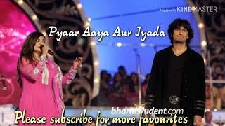 Pyaar Aaya Aur Jyada Romantic HD song_Sonu Nigam and Alka Yagnik_Barsaat (2005)