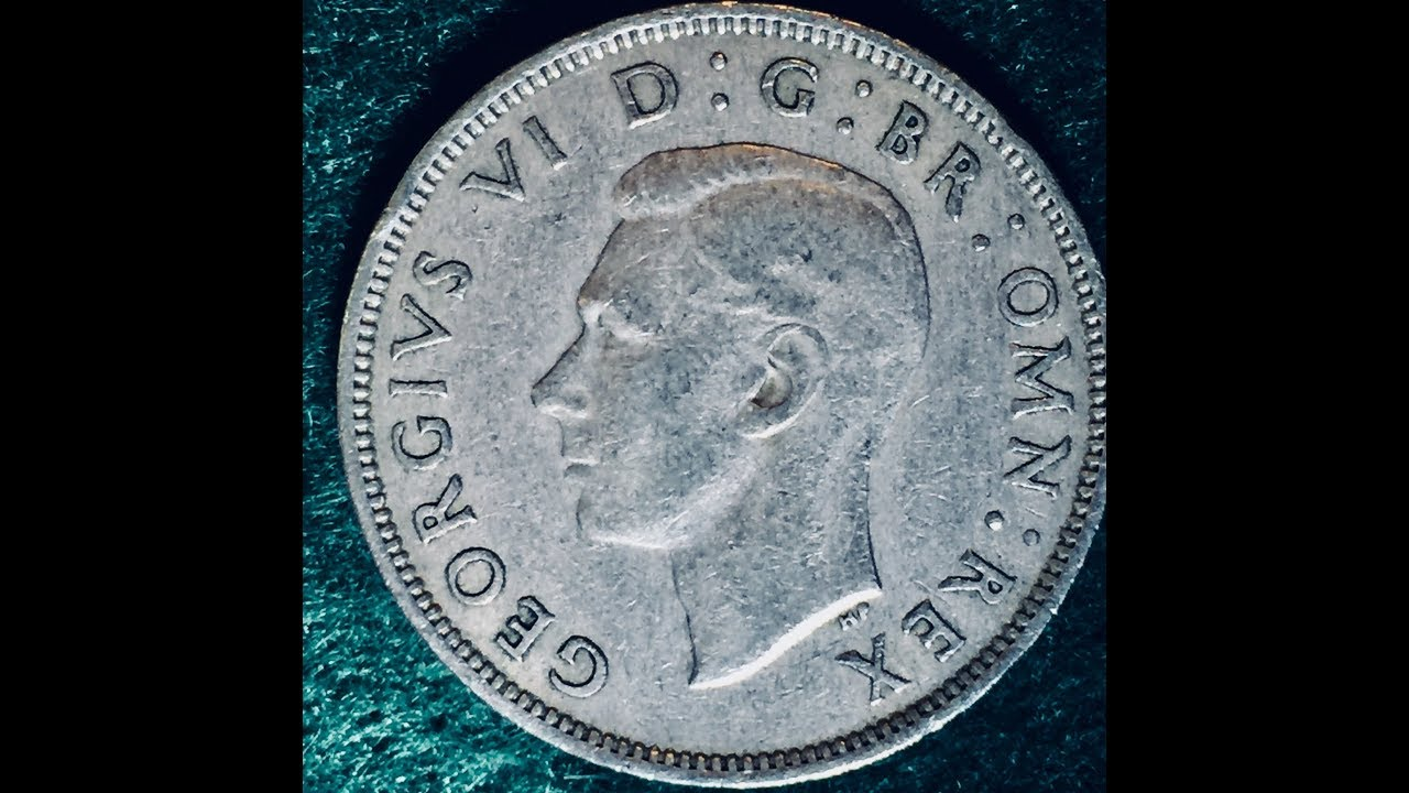 2 Shilling Coin - George VI- United Kingdom Dated 1951