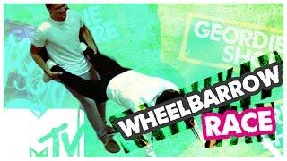 GEORDIE SHORE BBB | WHEELBARROW RACE | MTV