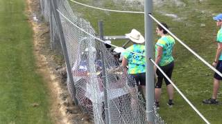 Daryl Healy Sprint Boat Crash at Webb's Slough 6-16-2012